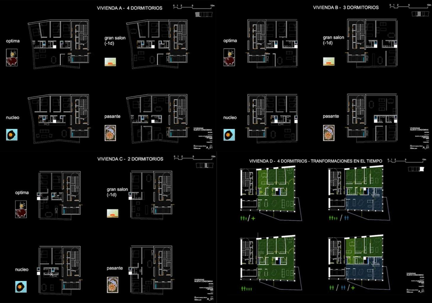 4 Torres de Vivienda en Nueva Condomina Blanca Lleó 02 copia 2