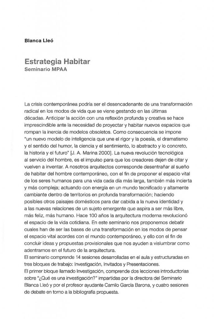 Aproximaciones a la investigación en Arquitectura Blanca Lleó 04