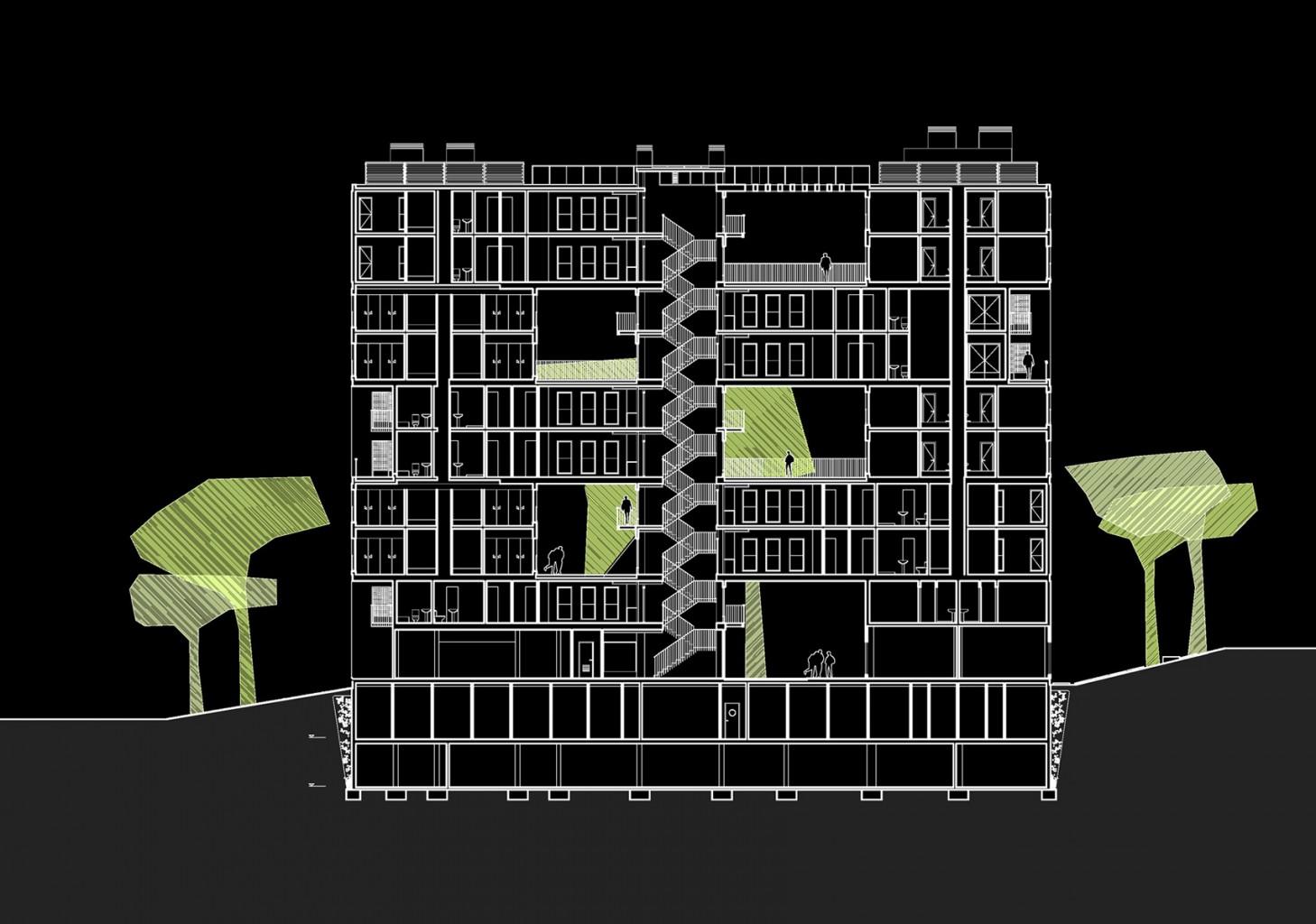 Edificio Celosía MVRDV Blanca Lleó 04