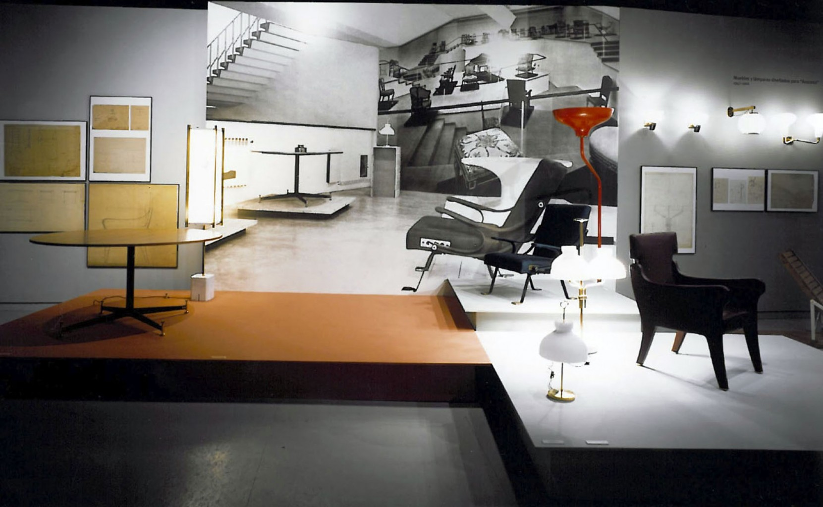 Exposición Ignazio Gardella 1905-1999, Arquitectura a través de un Siglo Blanca Lleó 01d