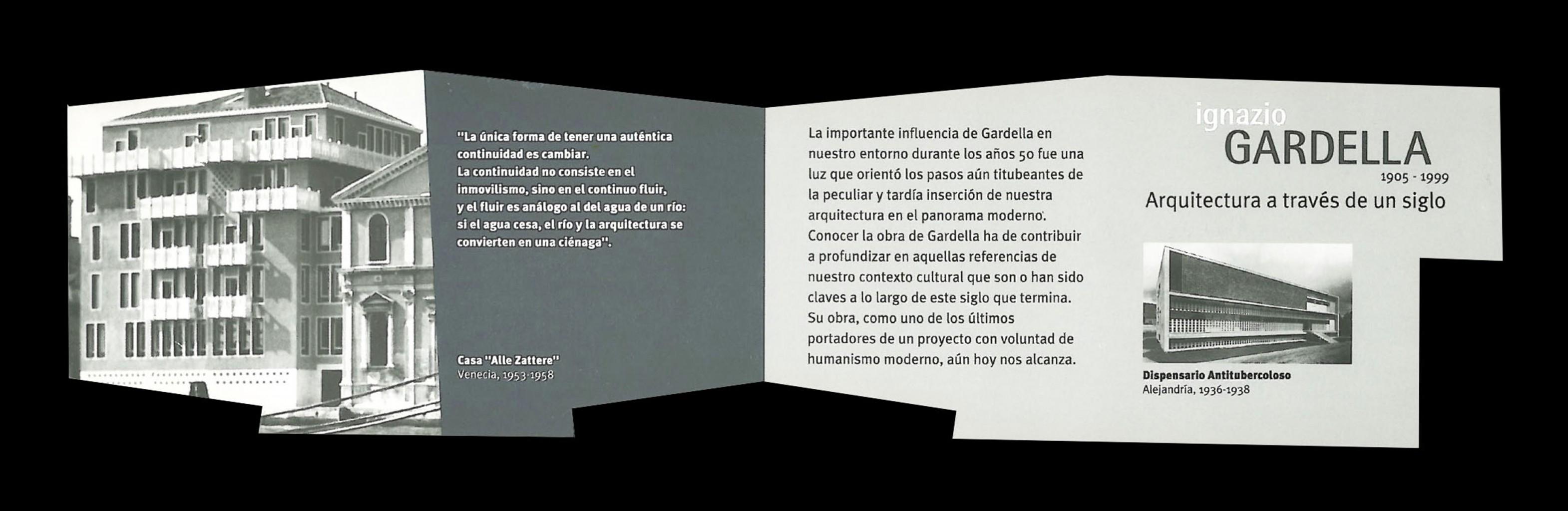 Exposición Ignazio Gardella 1905-1999, Arquitectura a través de un Siglo Blanca Lleó 01e