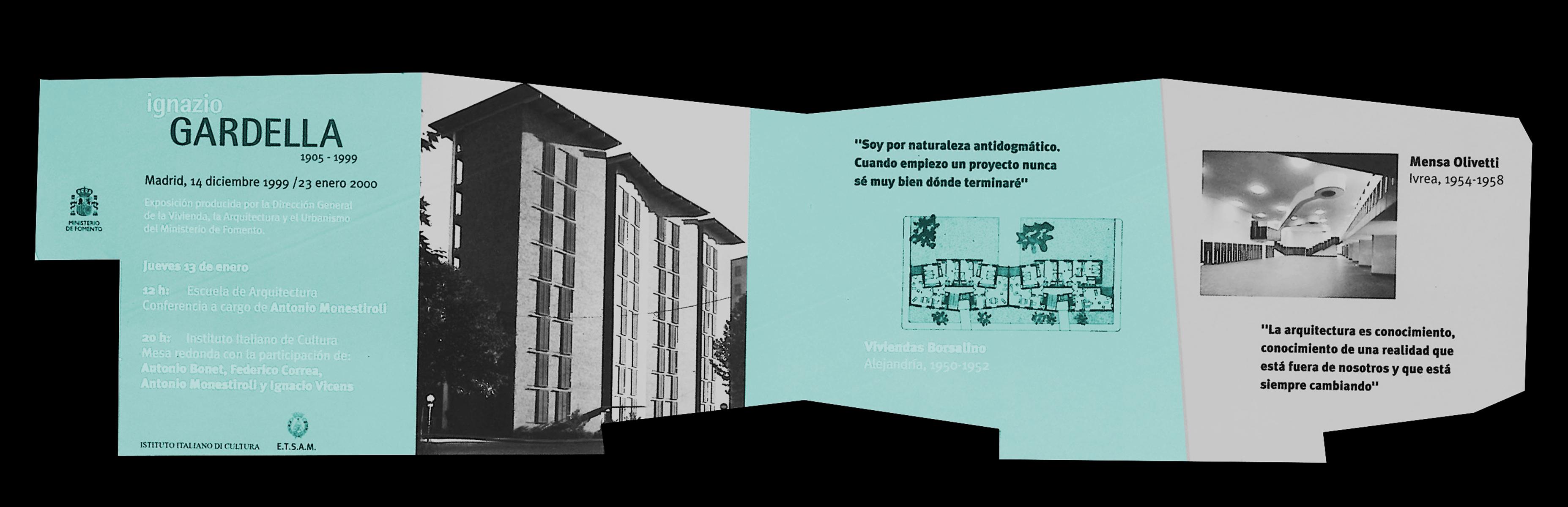 Exposición Ignazio Gardella 1905-1999, Arquitectura a través de un Siglo Blanca Lleó 01f