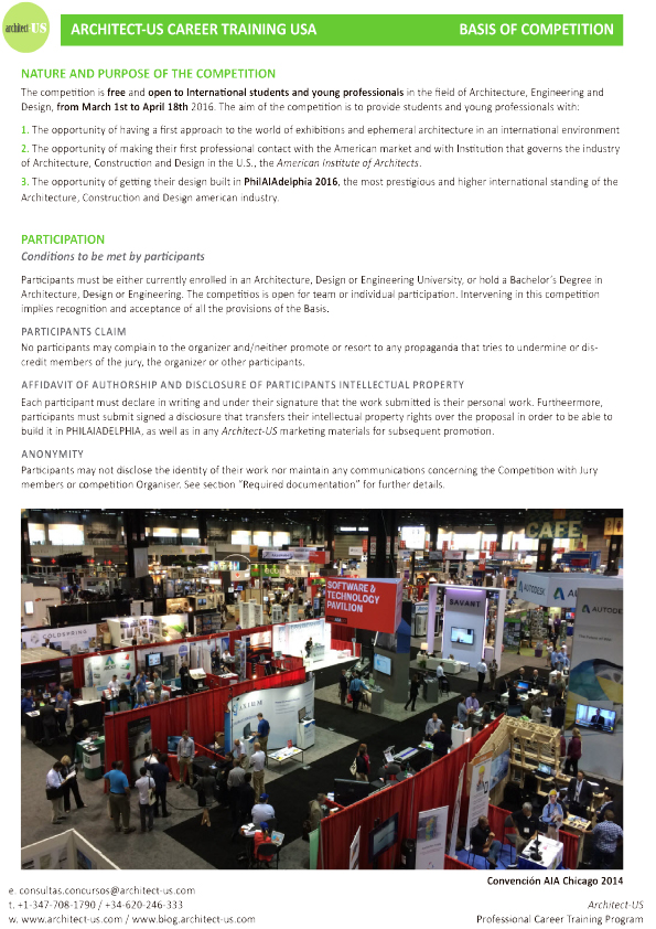 2016 AIA Convention Architect-US Stand_Basis of Competition_ENGLISH-3