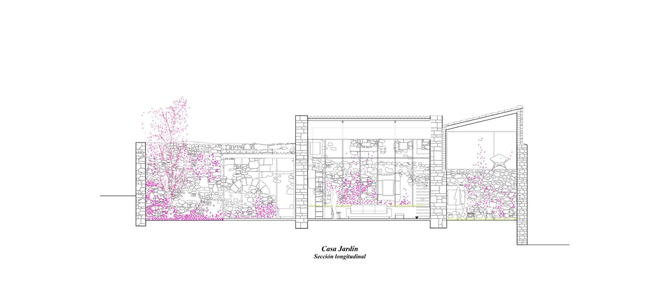 seccion longitudinal_casa jardin_bll