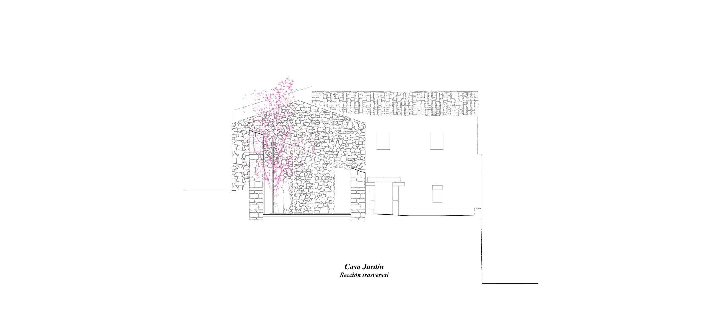 seccion trasversall_casa jardin_bll