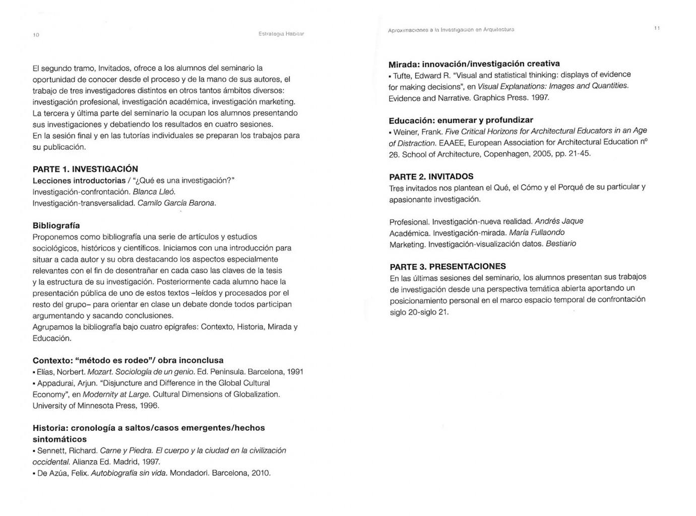 Aproximaciones a la investigación en Arquitectura Blanca Lleó 05