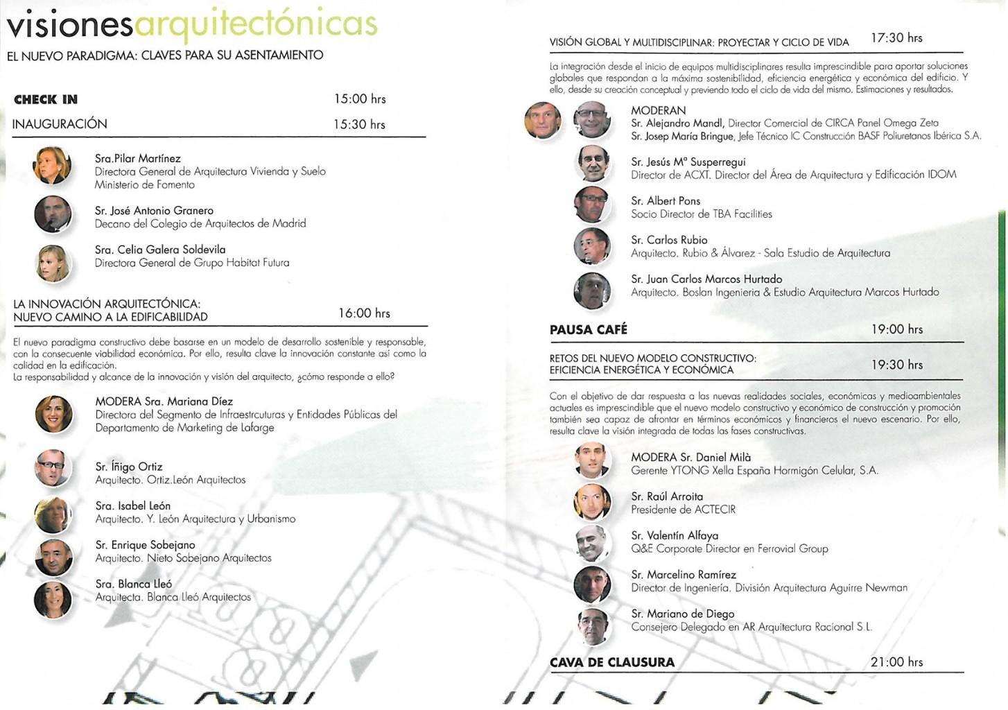 Visiones Arquitectónicas Blanca Lleó 02