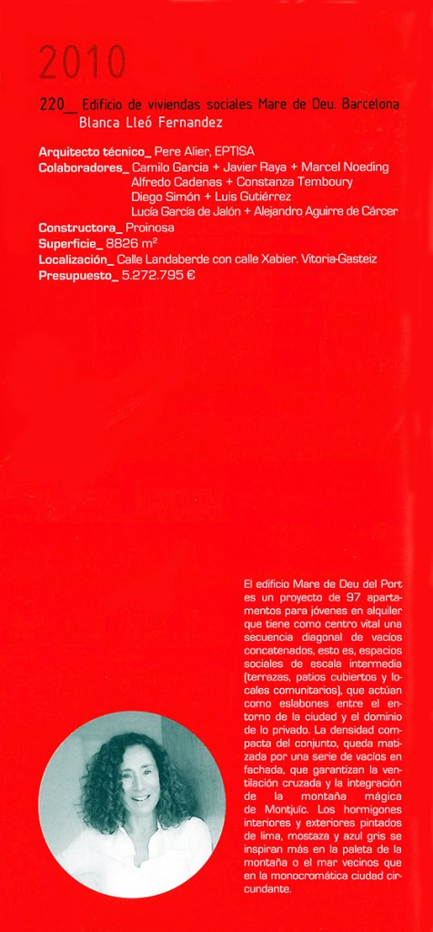 Arquitectura española 35 Blanca Lleó 02