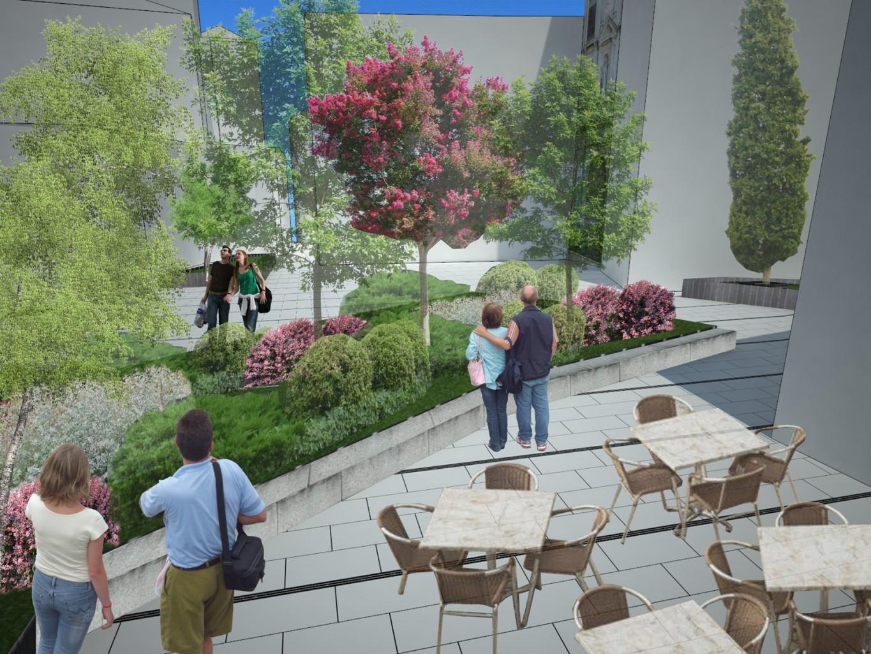 Reordenación urbana de Plaza de San Román Blanca Lleó 06