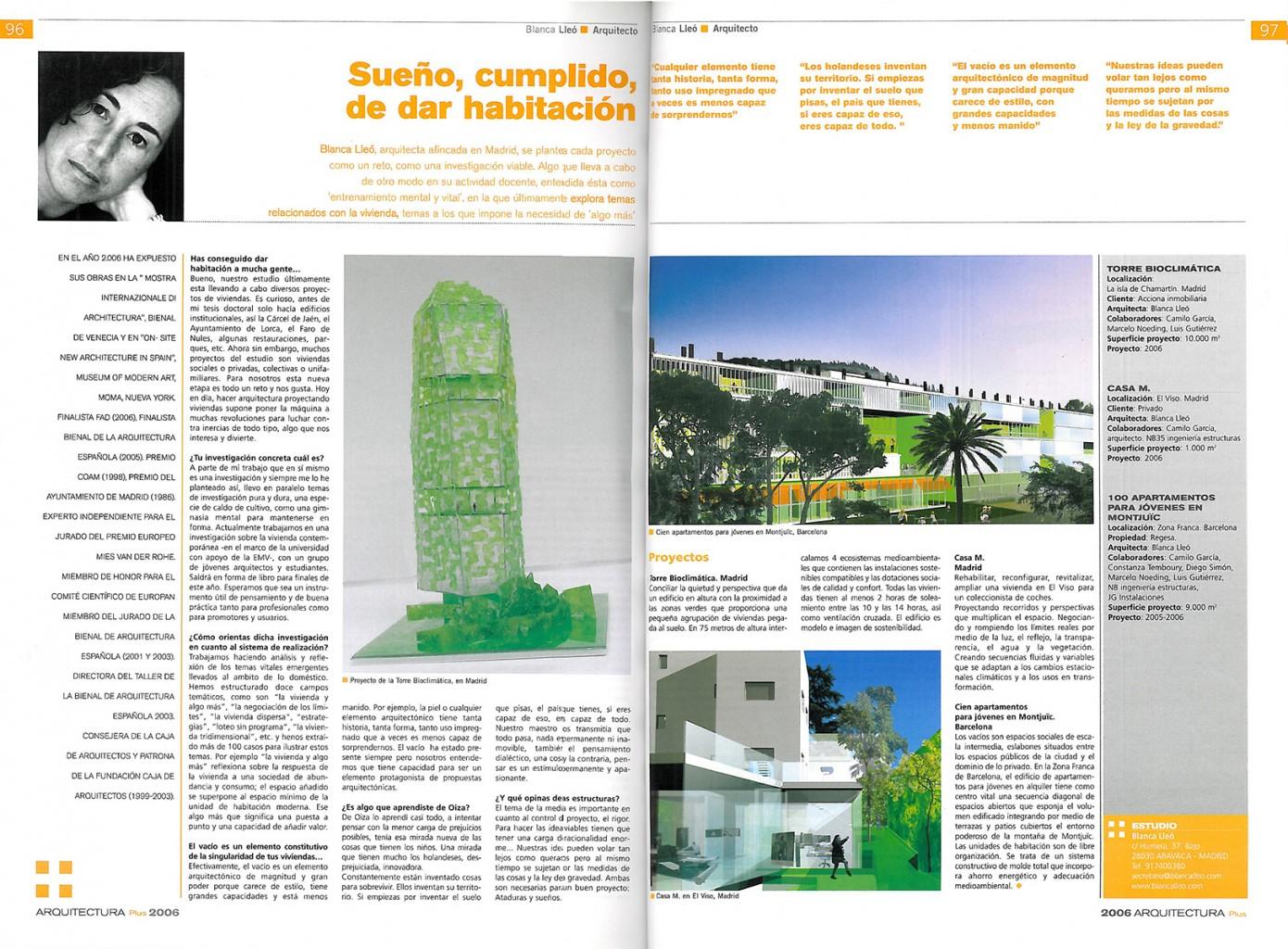 Arquitectura plus Blanca LLeó 01