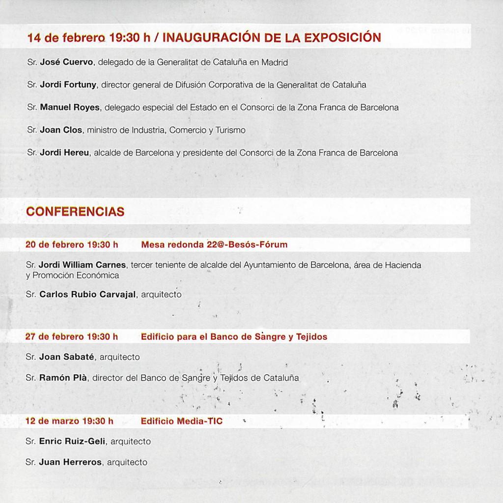 Conferencia 'Barcelona Proyecta' Fundacion Blanquerna Blanca Lleó 03