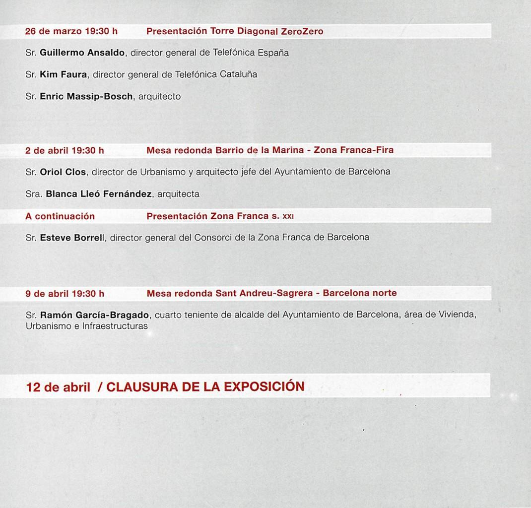 Conferencia 'Barcelona Proyecta' Fundacion Blanquerna Blanca Lleó 04