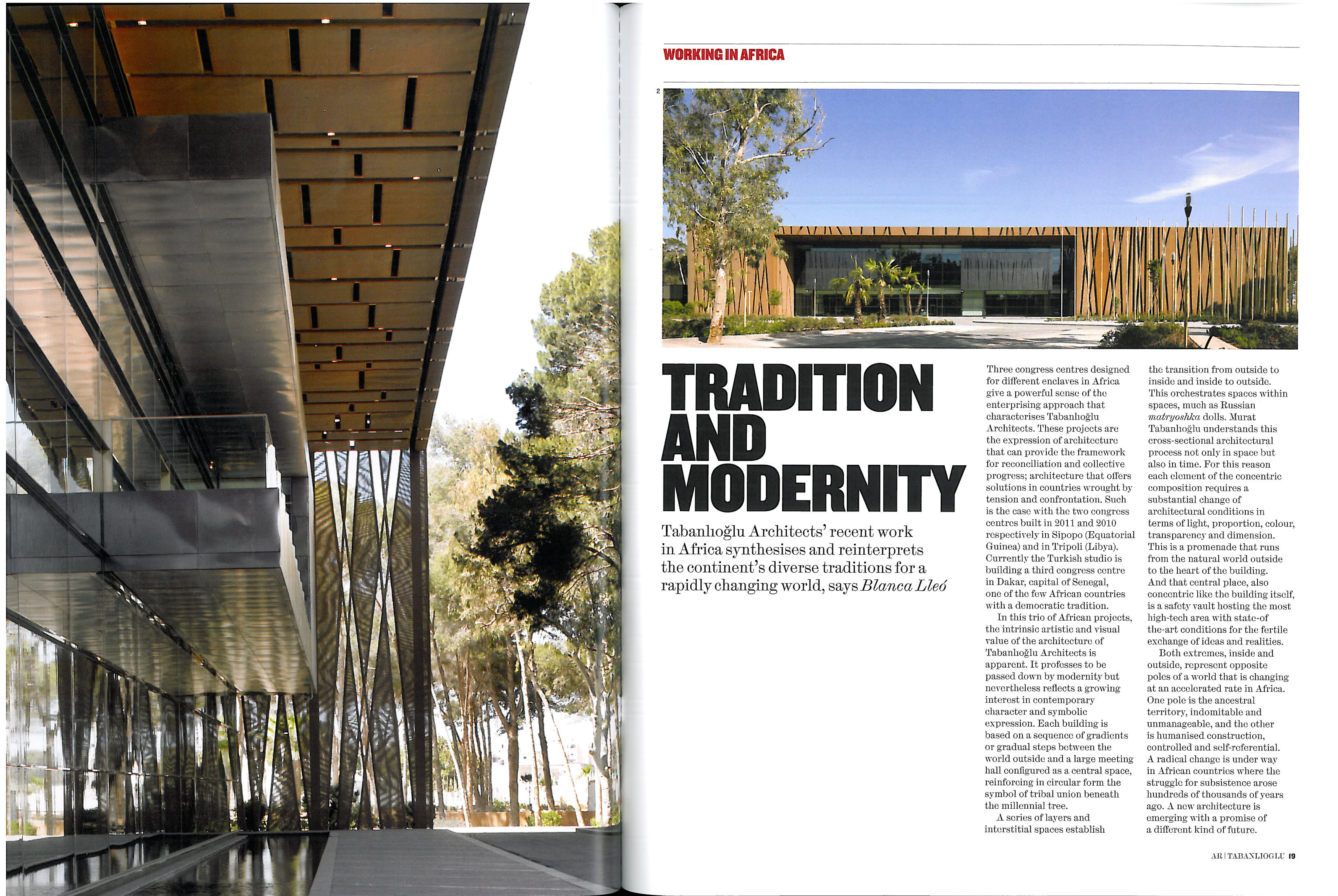 Tradition and modernity 1