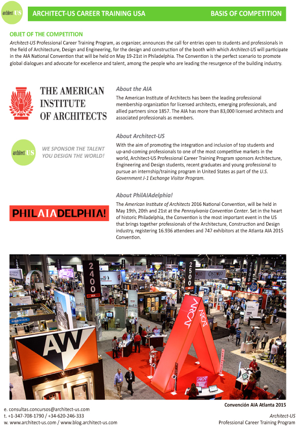 2016 AIA Convention Architect-US Stand_Basis of Competition_ENGLISH-2